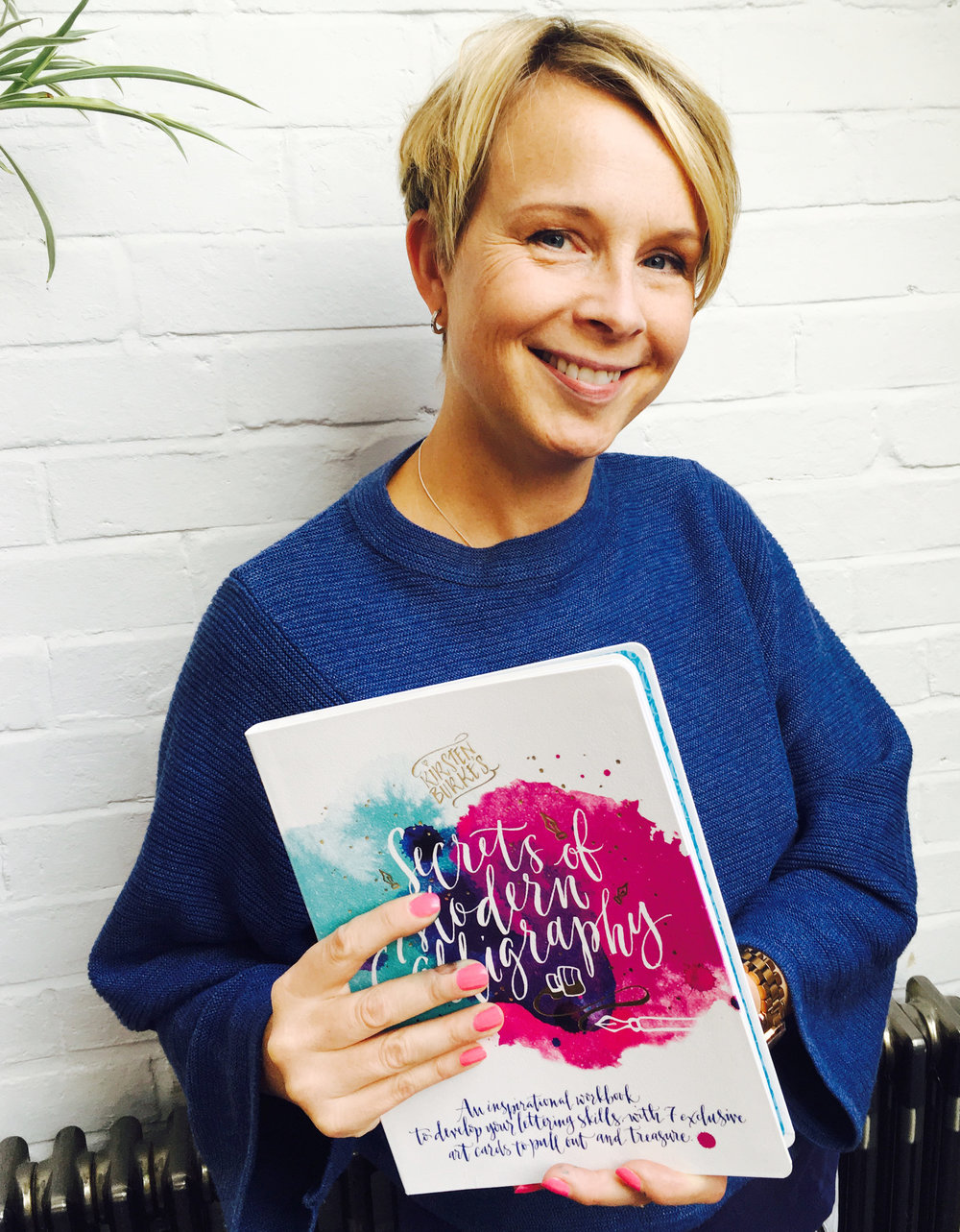 If you've bought our book - or you just fancy trying your hand at calligraphy- click through to our video tutorials and let Kirsten give you her secrets of modern calligraphy.