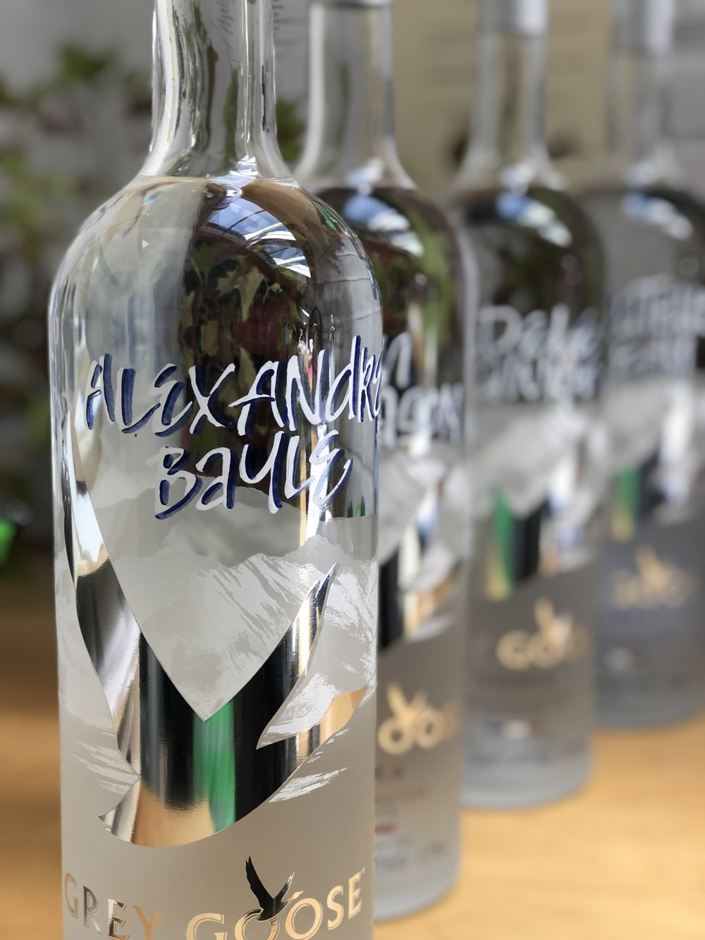 Personalization for Grey Goose