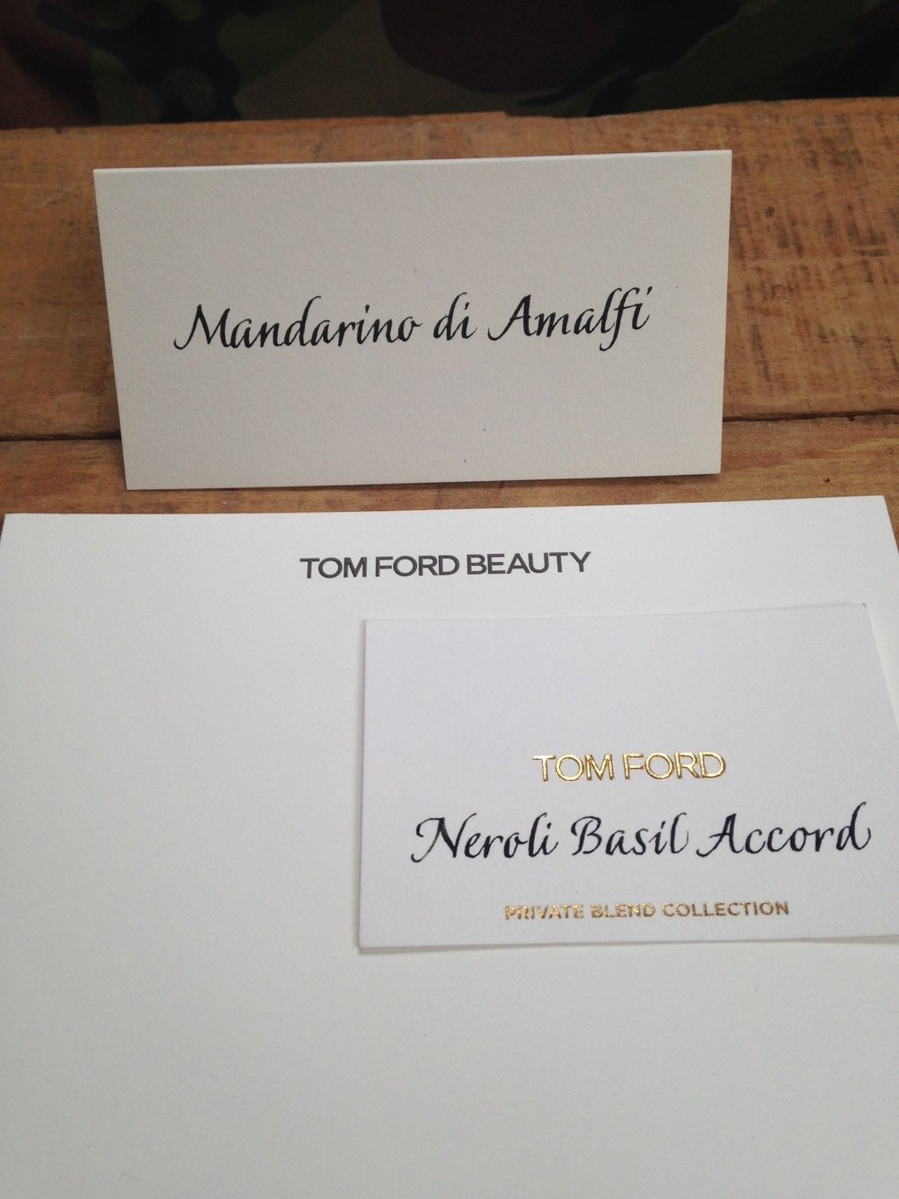 Formal Italic for Tom Ford Beauty