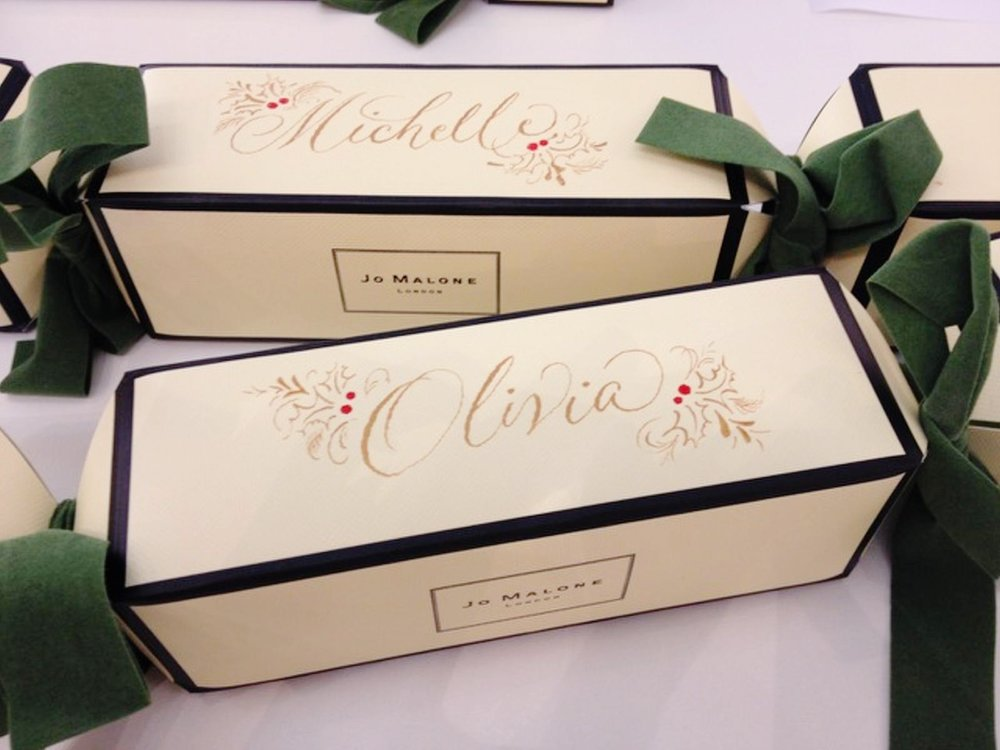 Decorative Cursive for Jo Malone