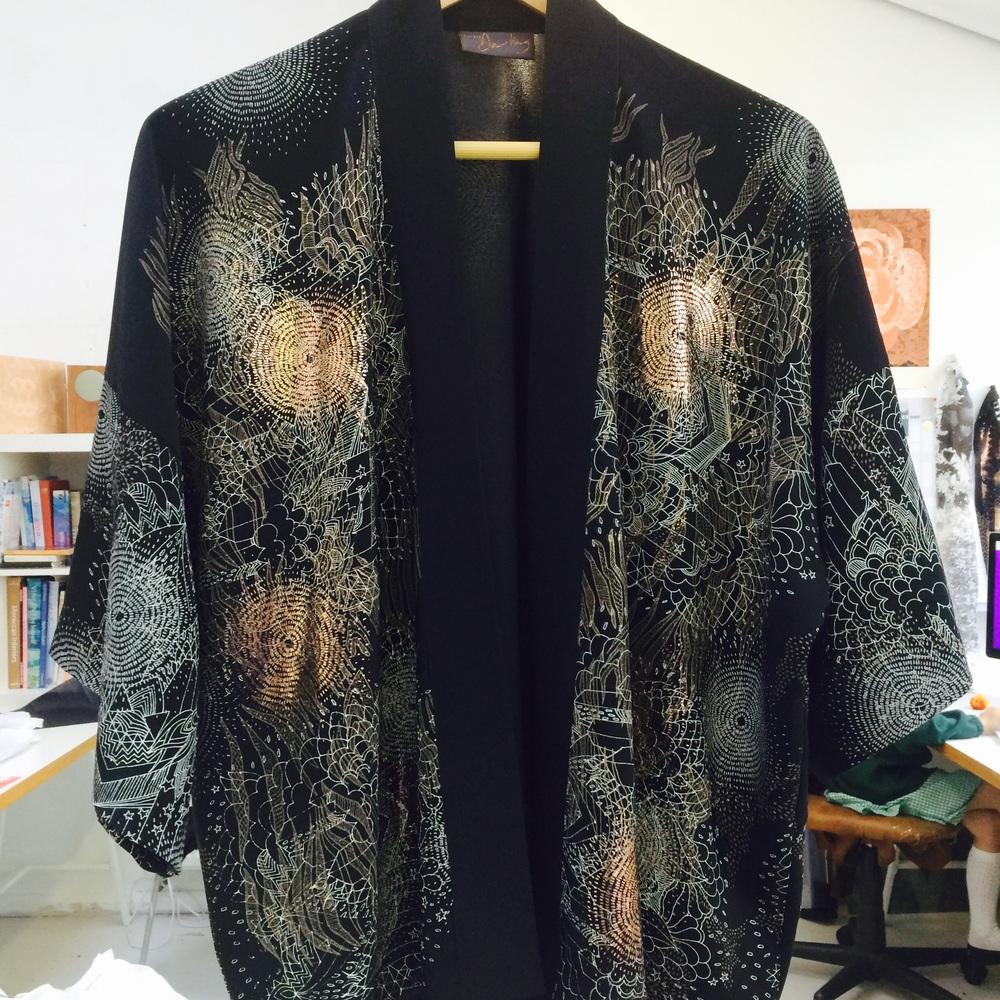 Stargazer kimono