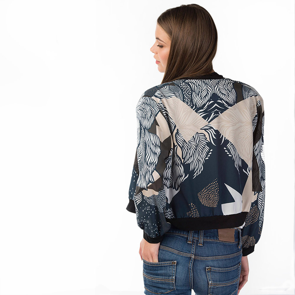 Farrow Silk Bomber
