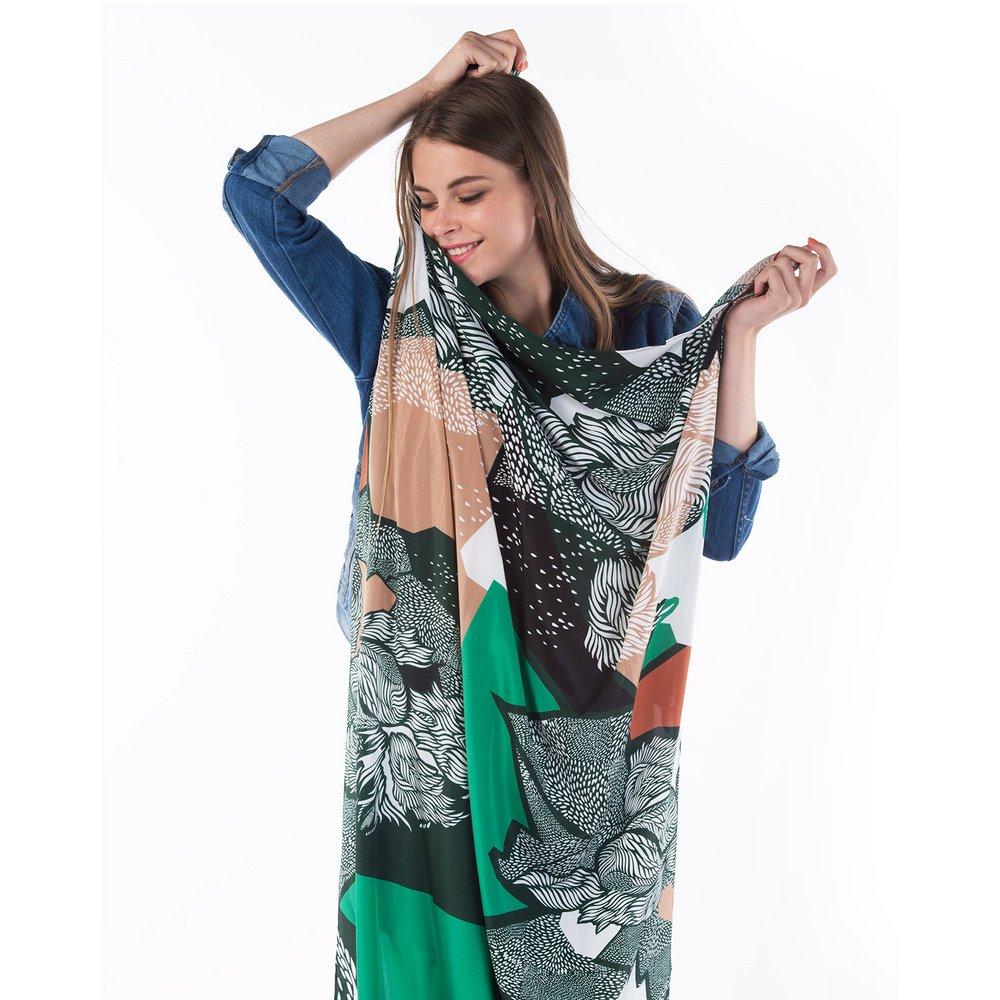 Delilah Large silk Scarf