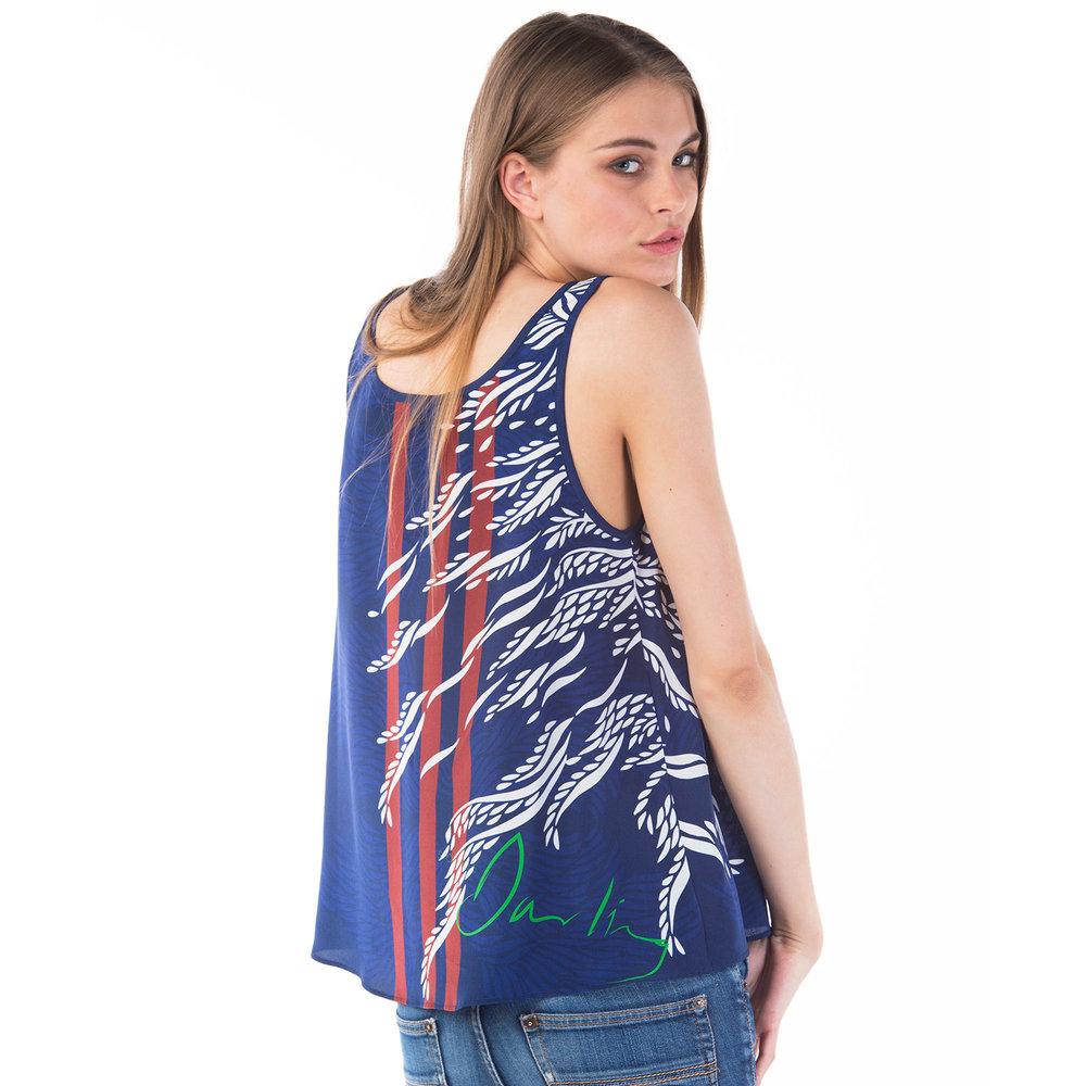 Florence silk vest