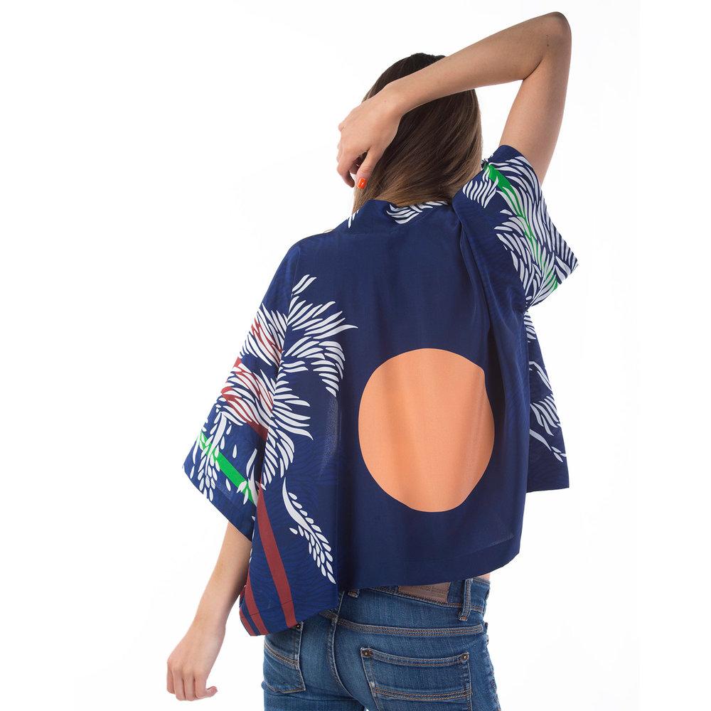 Florence silk kimono