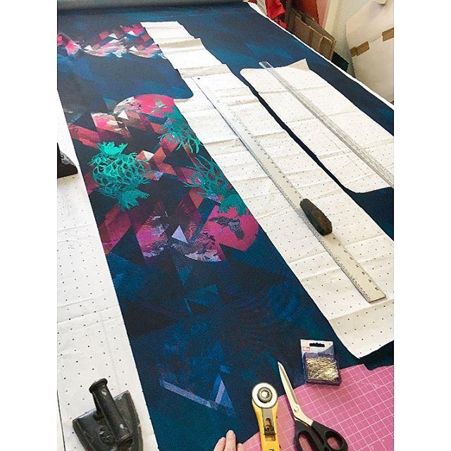 Today's table... #handcut #handmade #sustainablefashion