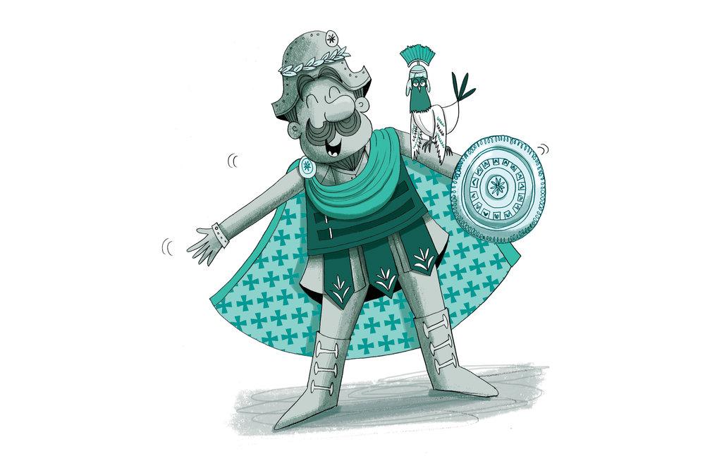 Horace gets gladitorial!
