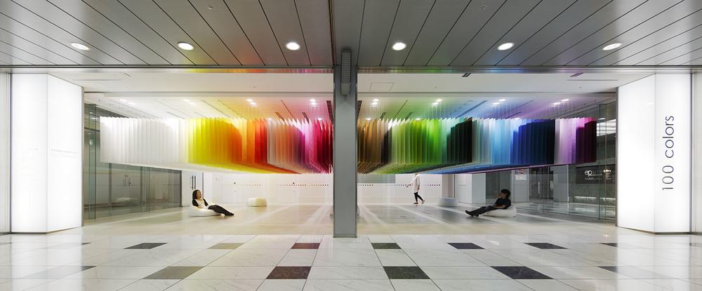 100 colors / 新宿三井ビル