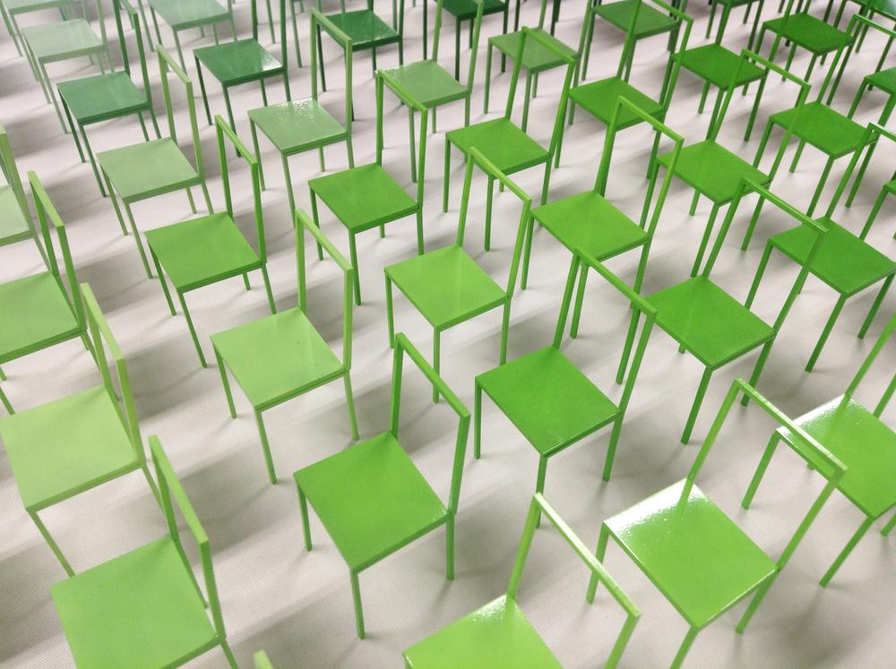 1000 chairs / Shinji Ono