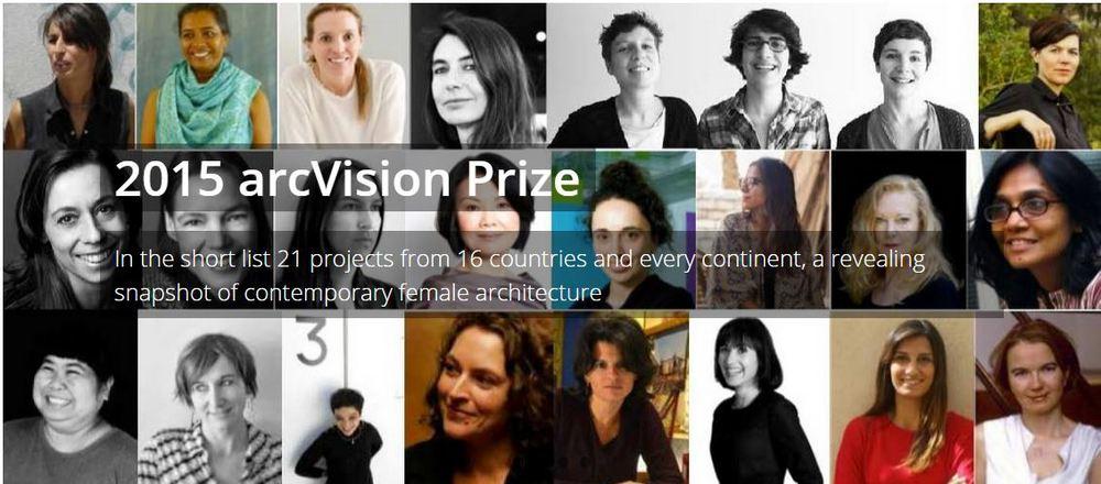 arcVision Prize 2015 - ノミネート者