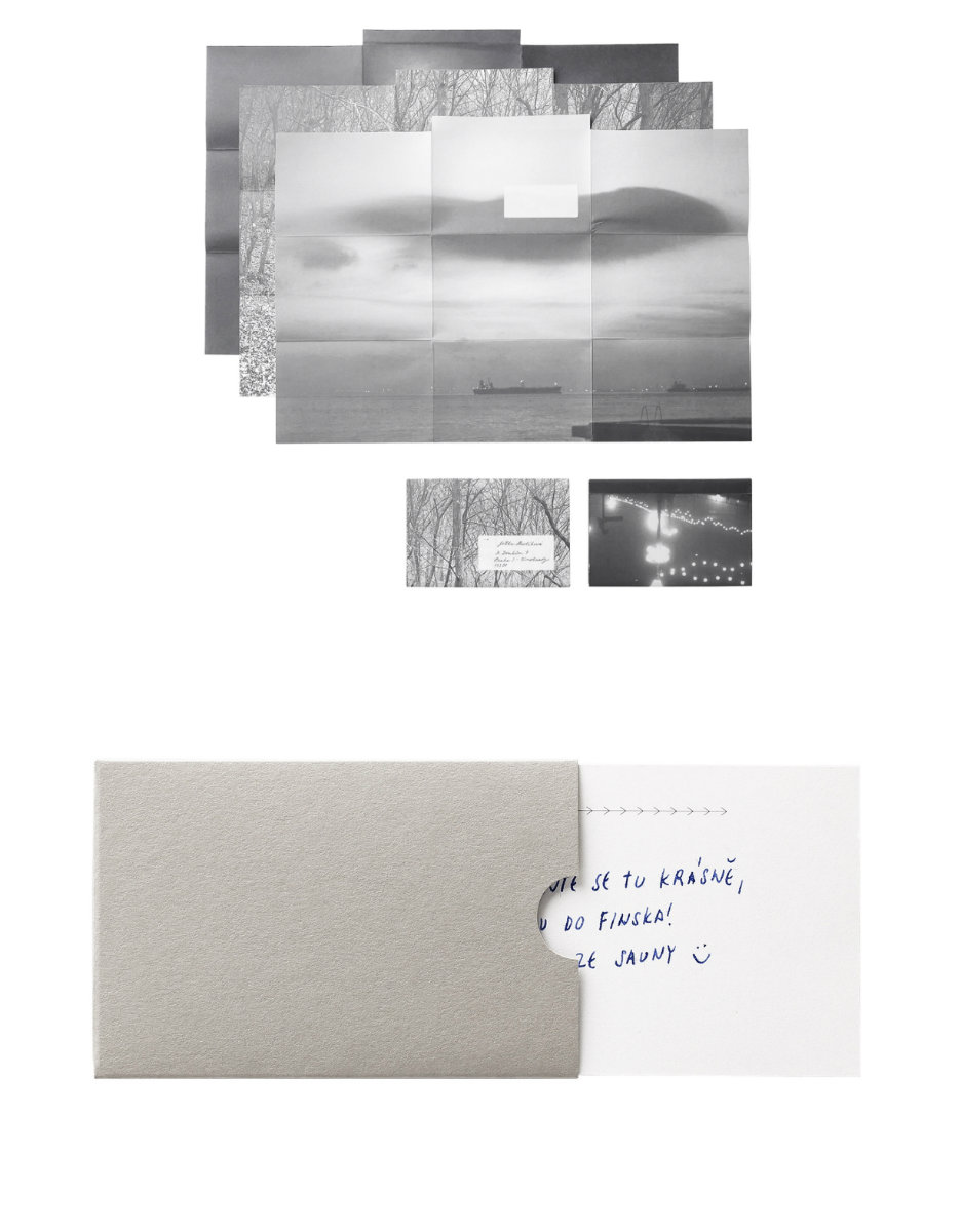 Photoenvelope: A letter and an image. Paper and envelope in one.  / Compliment card: Little cards will pass on your declaration, wish, thanks or apology in a cultivated way.