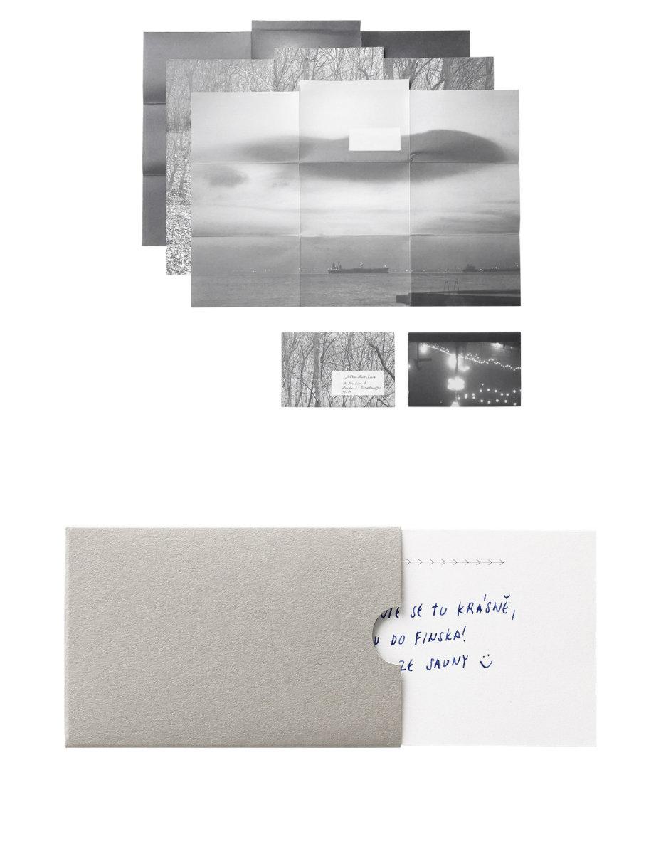 Fotoobálka: Dopis a obraz. Papír a obálka v jednom. / Komplimentka: Kartička na vzkazy předá vaše vyznání, přání, díky i omluvu.