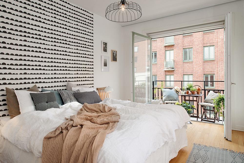 Ferm Living Tapete Half Moon : Bedroom Wall Decor
