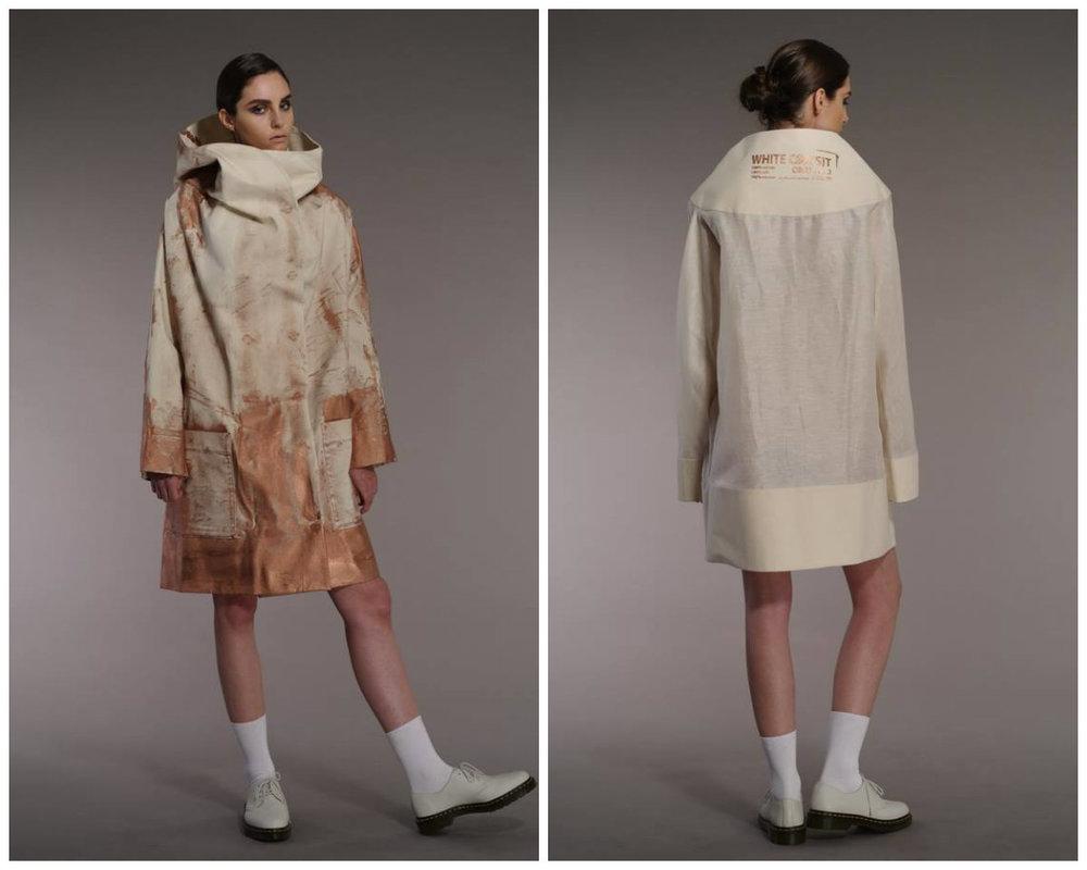 Designblok Fashion Talent Card: Lenka Vacková / White Coa(s)t