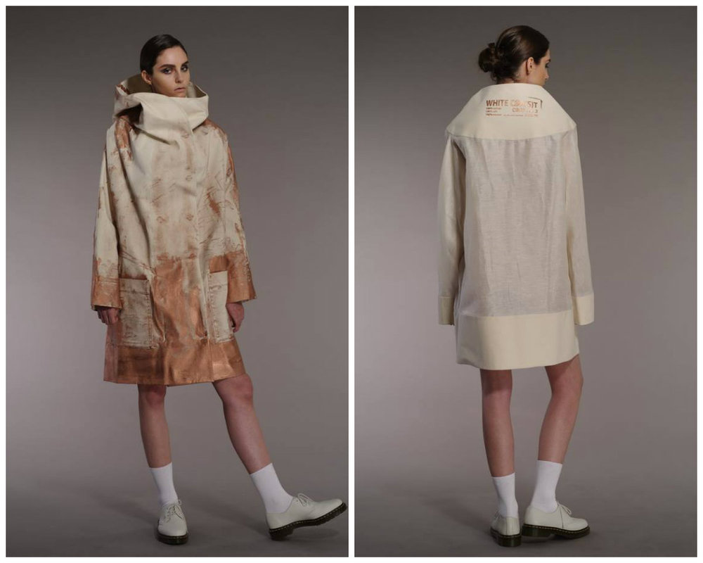 Designblok Fashion Talent Card: Lenka Vacková / White Coa(s)t