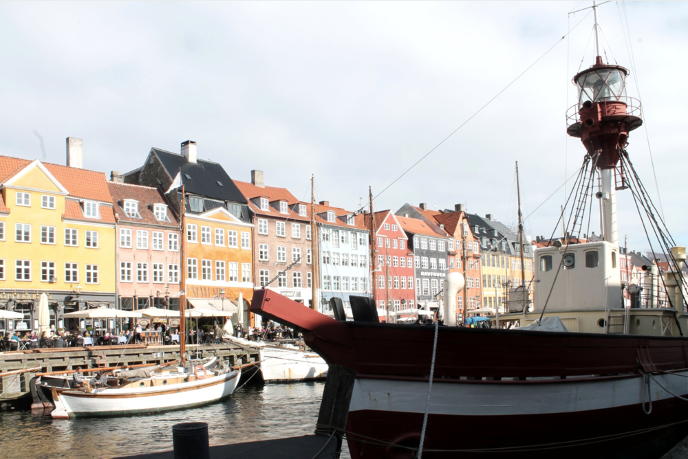 Fairytale icons of Copenhagen. Nyhavn, the most famous of Copenhagen canals, is lined with colourful houses from the 17th and 18th centuries, one of which was the residence of the author Hans Christian Andersen.