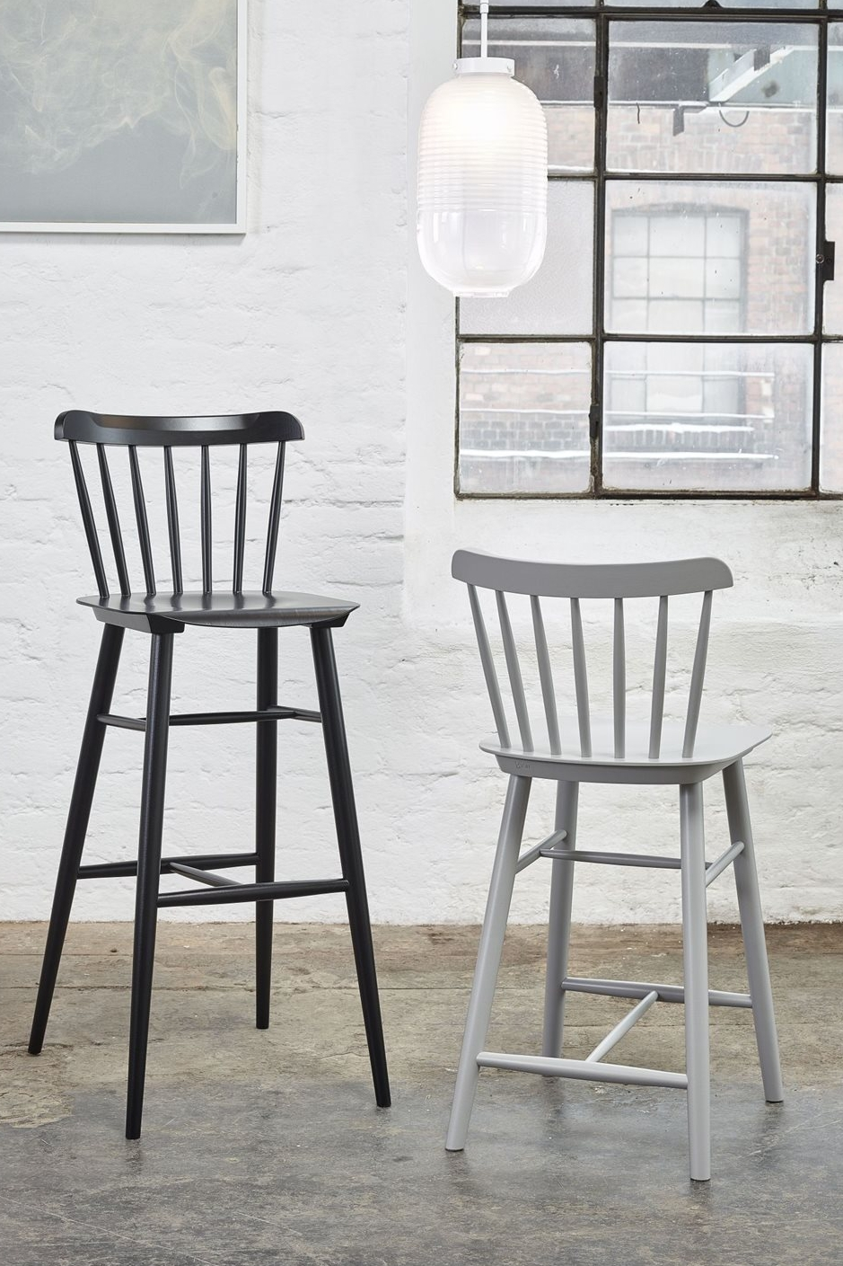 Barstool  Ironica  in tall and short variations
