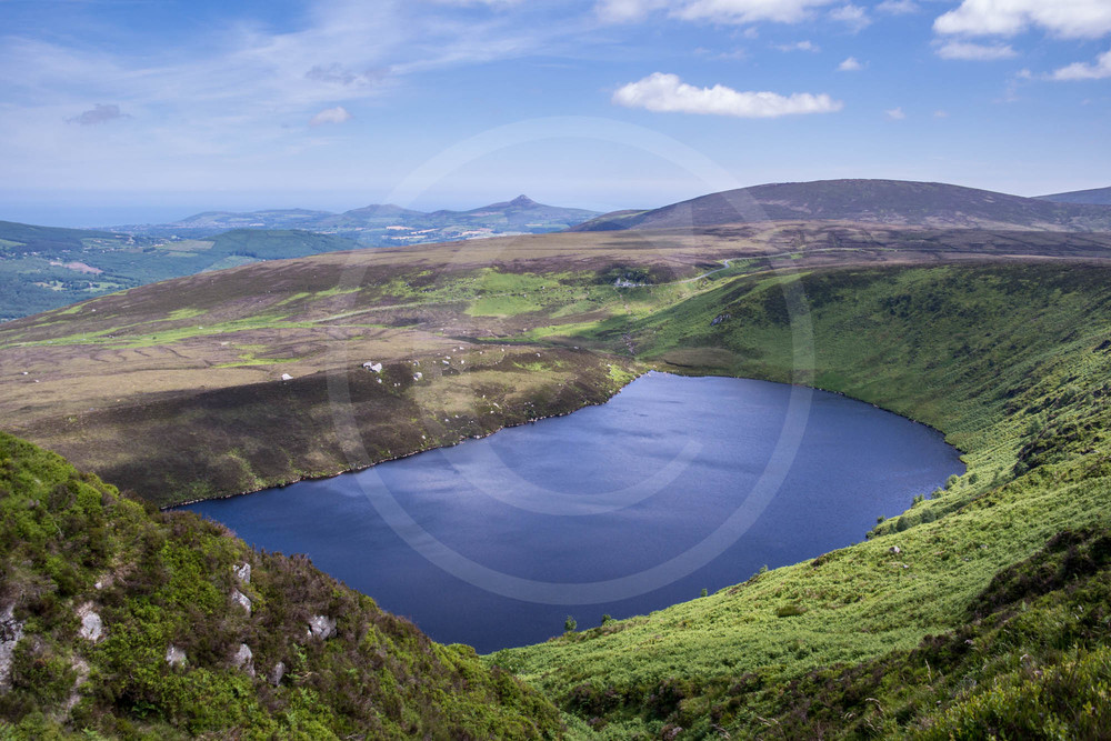 Upper Lough Bray, Wicklow Mountains