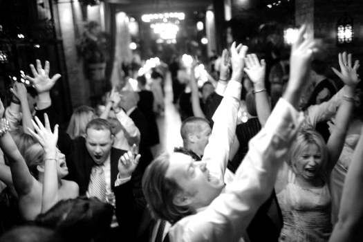Bowery Hotel Wedding 08handsupdance