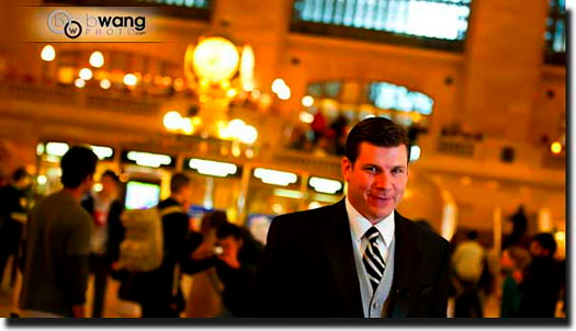 Grand Central Wedding JTWaiting
