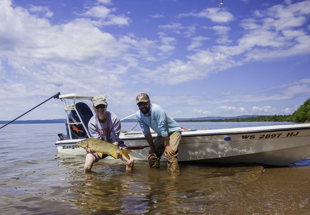 The elusive chequamegon bay bonefish aka golden ghost for Fly fishing jobs