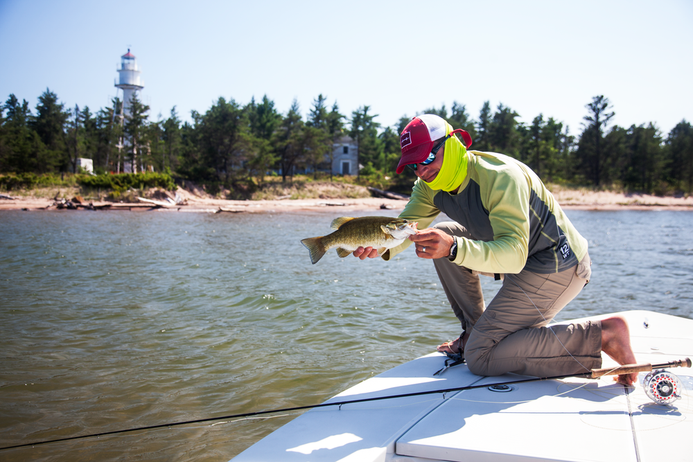 The water off long island has been super warm after a for Ashland wi fishing report