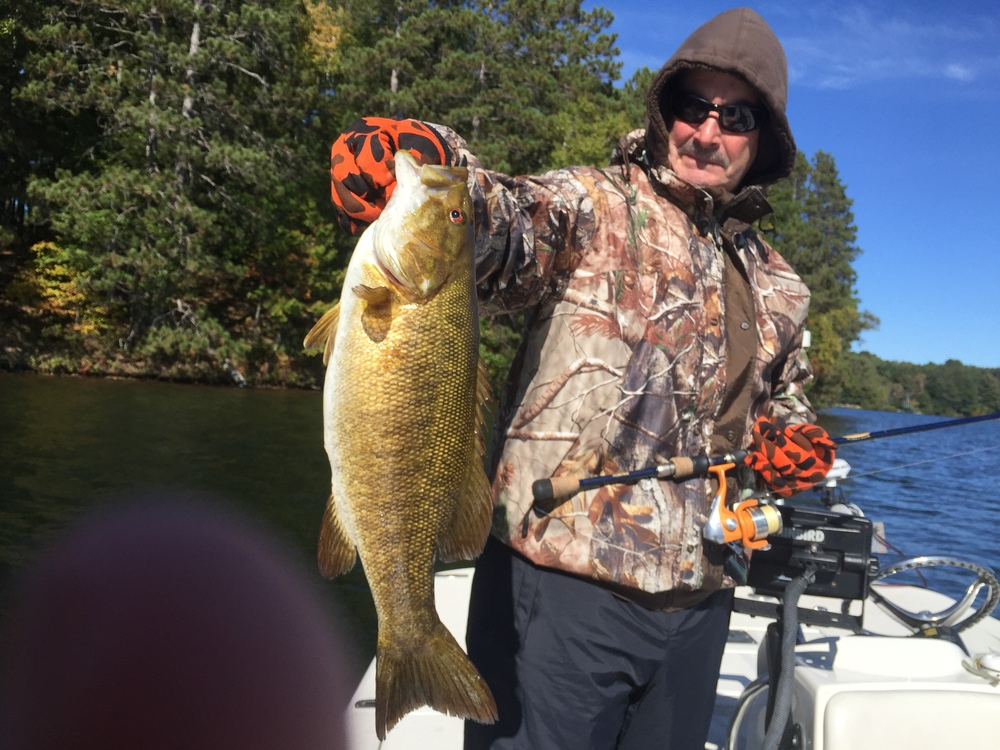 The inland lakes offer great fall fishing as well, when conditions on the big water get nasty.