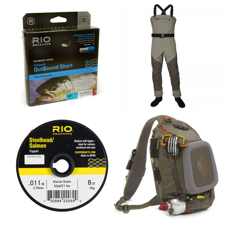 Check out some of our new products for this upcoming Steelhead season including the new Steelhead/Salmon tippet from RIO and the new Fishpond Summit Sling