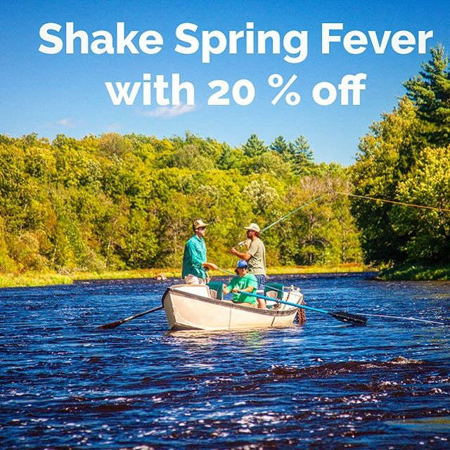 Enter the flyfishing season and SAVE with 20% off any Redington CROSSWATER wader, rod or rod and reel combo April 13-23. . . . . . . . . #flyfishing #redingtongear #redingtonbehemoth #redingtonpredator #smallmouthonthefly #summer #wisconsin #chequamegonbay