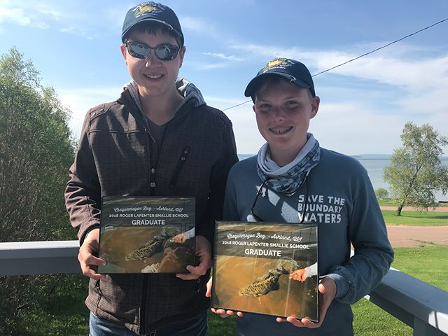 A few photos from the inaugural Roger Lapenter Smallie School.  A great time with a couple great kids.  The future of fishing is in good hands.