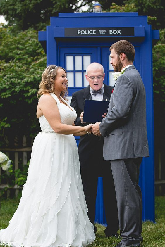 Doctor who wedding dress