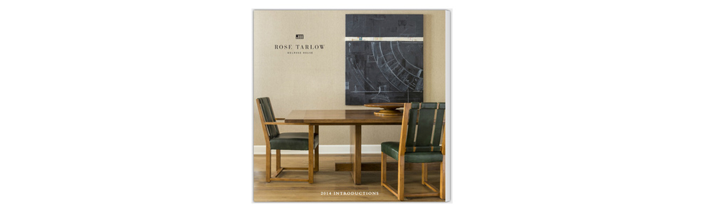 ROSE TARLOW Introductions - View LOOK BOOK