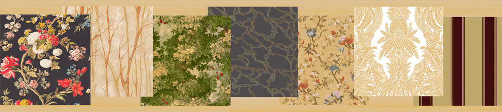 shears and window zoffany colony introduces wallpaper whats new test shears window