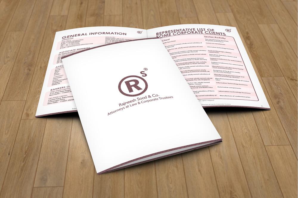 RAJNEESH SOOD & CO. - BROCHURE DESIGN