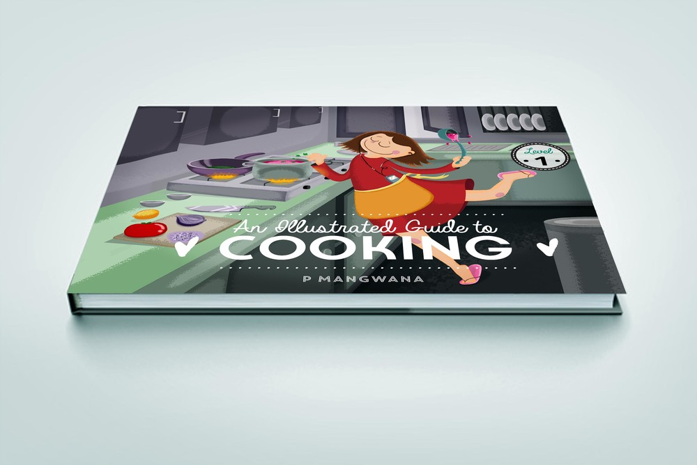ILLUSTRATED GUIDE TO COOKING - BOOKCOVER
