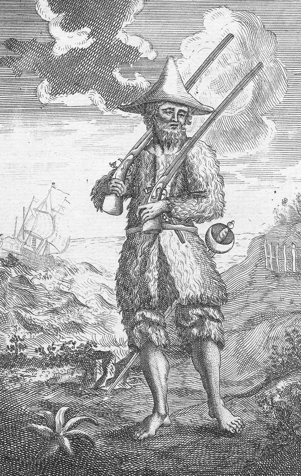 Robinson Crusoe, Daniel Defoe, 1719.