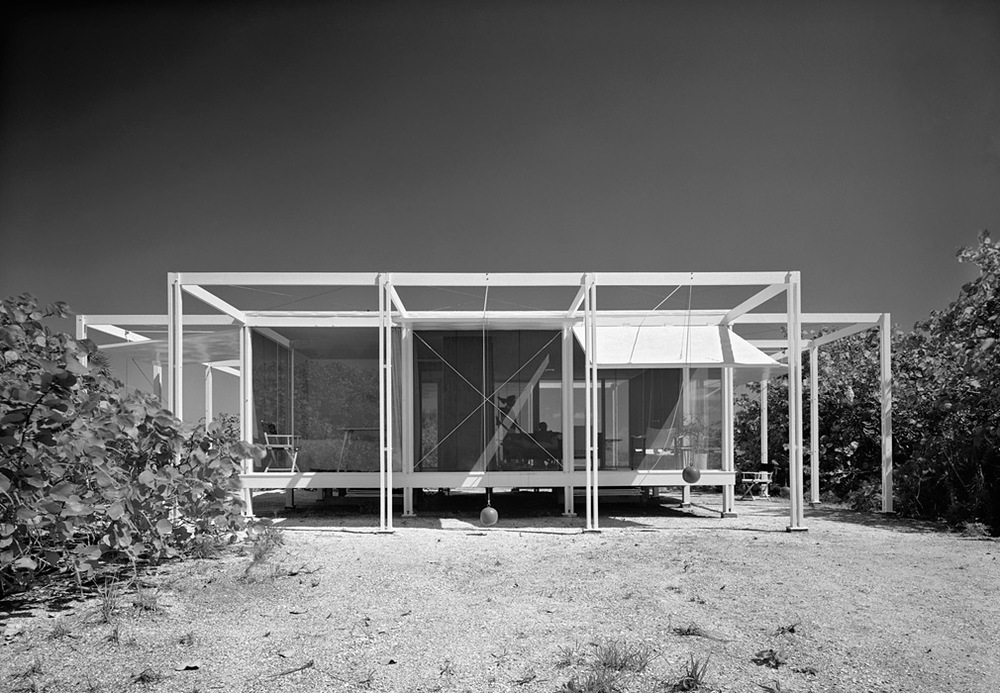 Walker Guest House, Paul Rudolph, Sarasota FL, 1953.