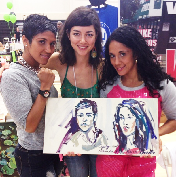 Raisa Nosova and the Serrano Sisters