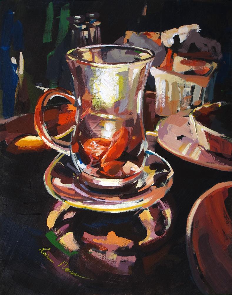 Candelit Teatime