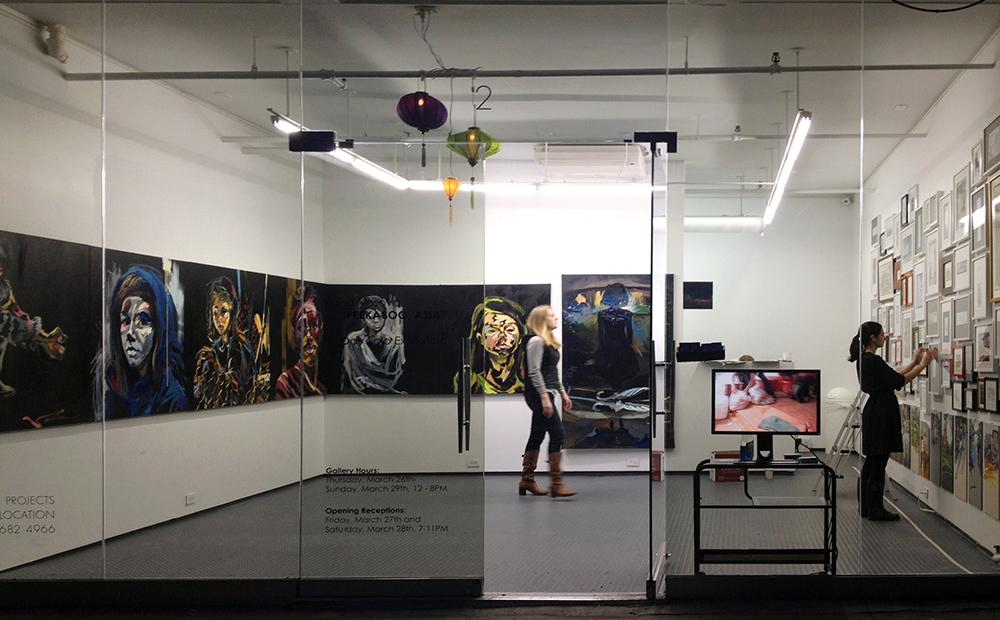Peekaboo, Asia solo exhibition