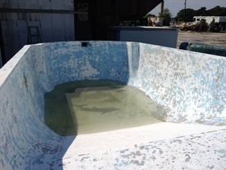 Jersey Pool Before
