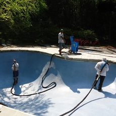 ecofinish for new build swimming pools & renos