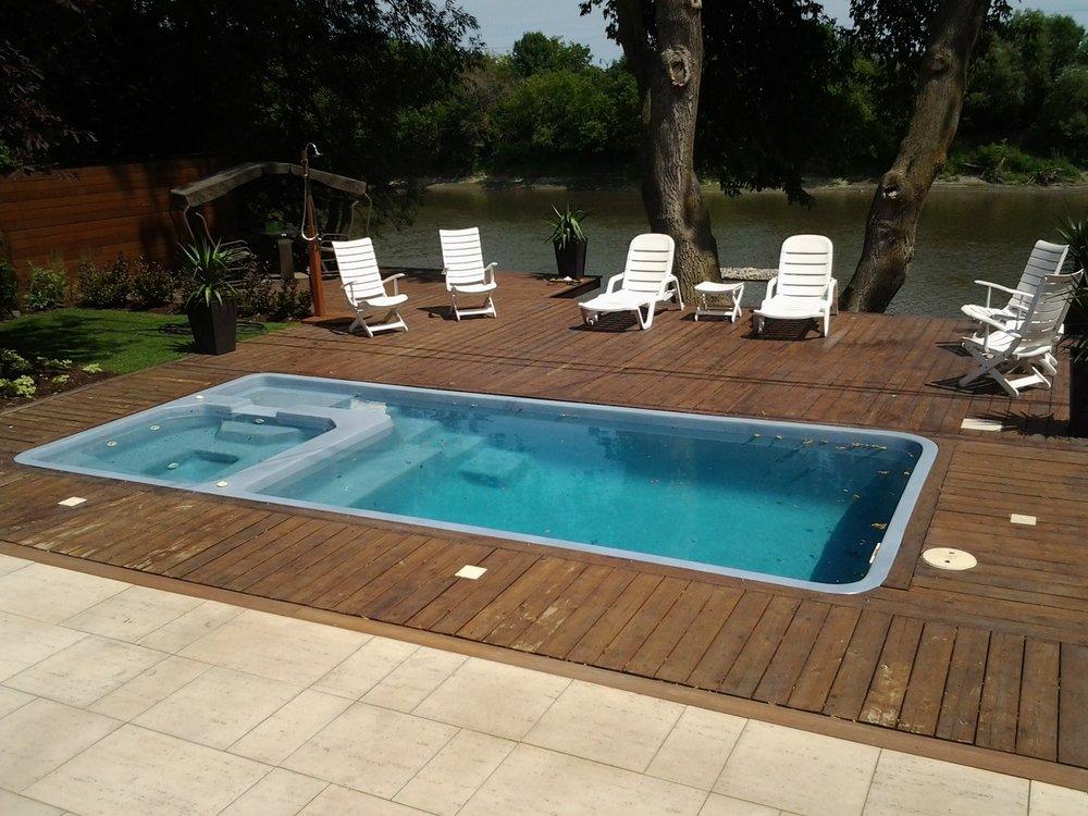 Photos pool house piscine amazing piscine with photos for Piscine leisure pools