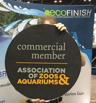 ecoFinish is a proud member of zoos & aquariums assoc