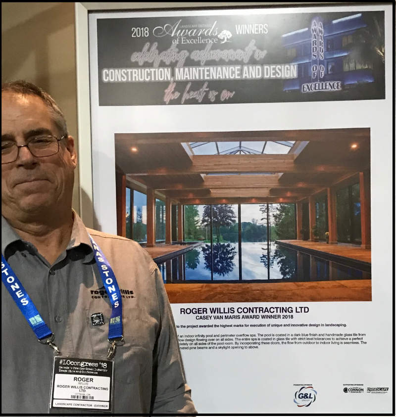 Roger Willis, Willis Construction at the Lanscape Ontario Congress 2018