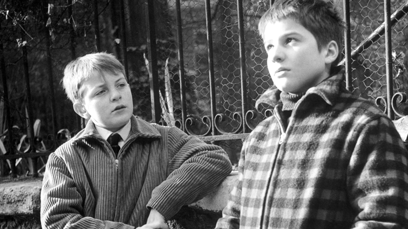 Image courtesy of Criterion.com. Scene from  400 Blows .