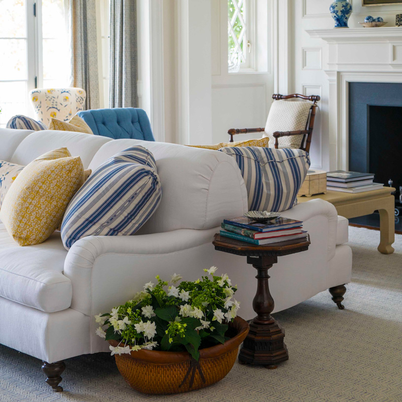 Double Sided Sofa crosby double sided sofa — lee ann thornton interiors