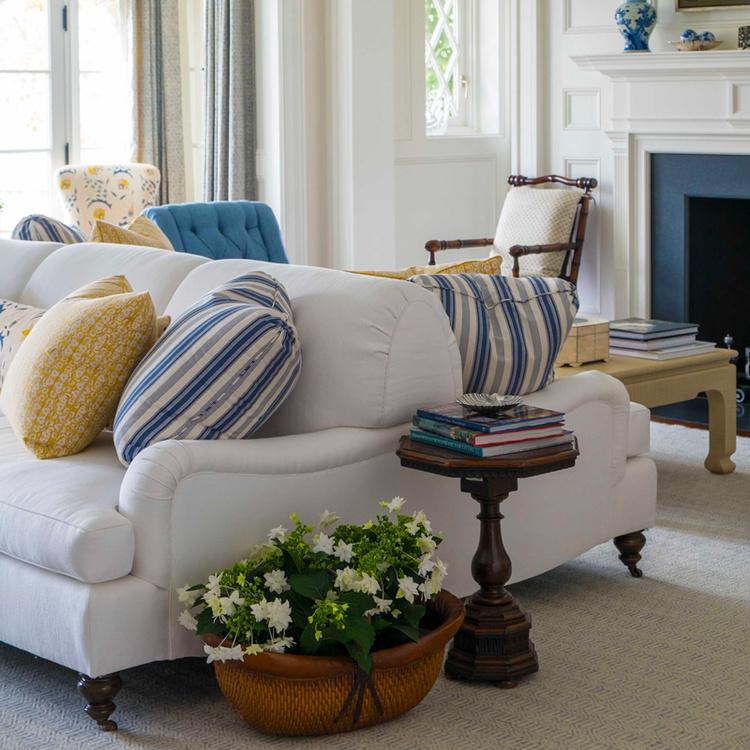 Crosby Double Sided Sofa — Lee Ann Thornton Interiors