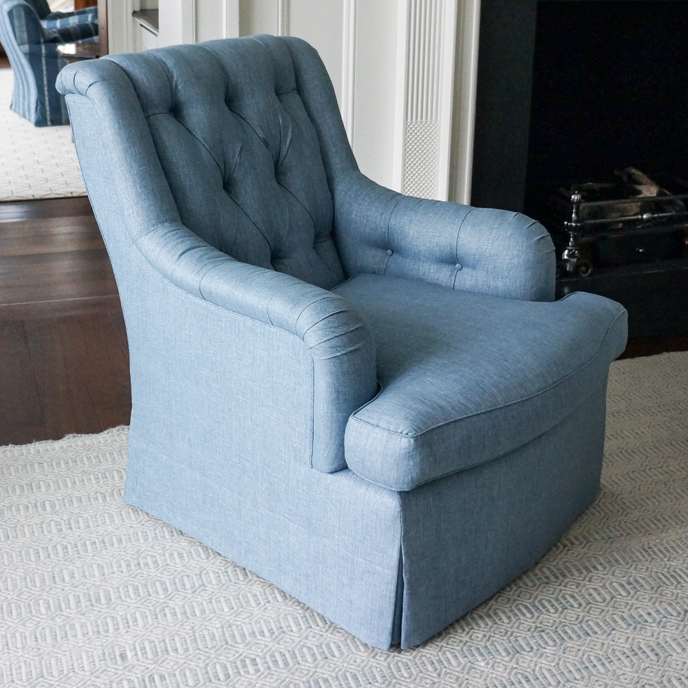 Sag Harbor Tufted Chair