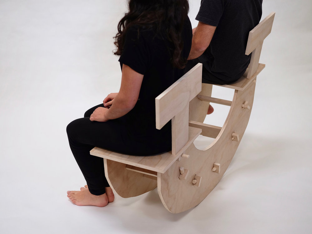 Exceptionnel Chair For Two, Plywood, 4u0027x3u0027, 2017